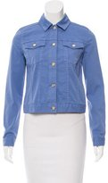Tory Burch Cropped Button-Up Jacket w/ Tags