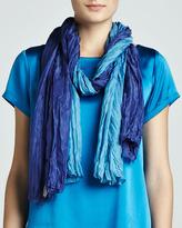Eileen Fisher Cross-Dye Whisper Silk Wrap