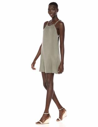 BCBGeneration Women's Crisscross Back A-Line Dress