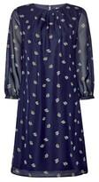 Dorothy Perkins Womens Billie & Blossom Blue Teacup Print Chiffon Shift Dress, Blue