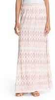 Soft Joie Women's 'Binah' Ikat Print Maxi Skirt