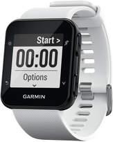 Garmin Unisex Forerunner 35 White Silicone Strap Smart Watch 41mm