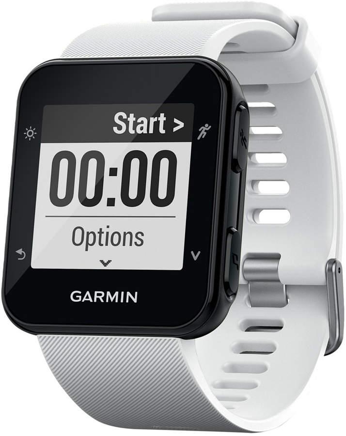 Garmin Unisex Forerunner 35 White Silicone Strap Smart Watch 41mm 010-01689-03