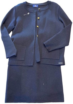 Saint James Navy Wool Jacket for Women