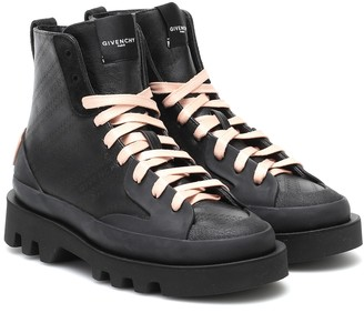 Givenchy Clapham leather ankle boots