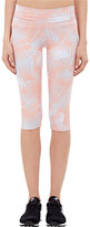 Live the PROCESS LIVE THE PROCESS WOMEN'S PALM-PRINT CROPPED LEGGINGS