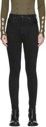 Moussy Black MV Filer Rebirth Skinny Jeans