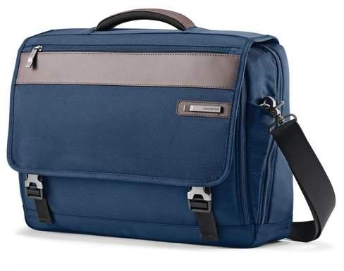 Samsonite Kombi Flapover Legion Blue Briefcase