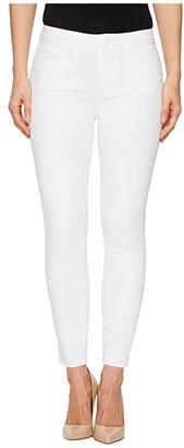 Paige Hoxton Crop in Crisp White (Crisp White) Women's Jeans