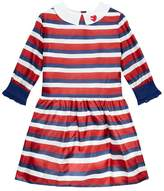 Gucci Long Sleeve Striped Dress