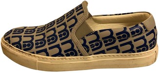 Anya Hindmarch Multicolour Leather Flats