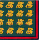 Gucci Kids Knitted bears baby blanket