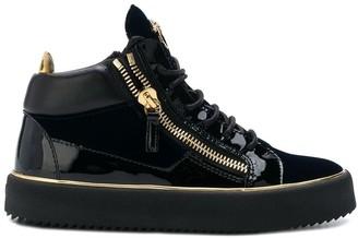Giuseppe Zanotti Platform Lace-Up Sneakers