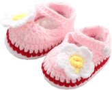 YOLL.YLTkids YLTkids Baby Newborn Infant Crochet Knit Socks Booties Crib Casual Shoes
