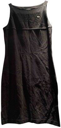 Lacoste Black Cotton Dress for Women