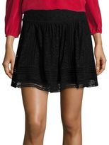 Joie Darby Lace Mini Skirt