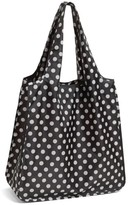 Kate Spade 'Polka Dot' Reusable Shopping Tote - Black