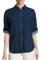 Eileen Fisher Denim Shirt