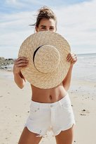 LACK OF COLOR Spencer Wide Brim Boater by at Free People