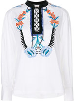 Temperley London Peacock shirt