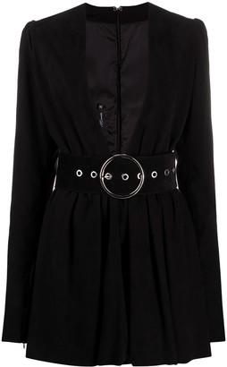 Manokhi Nixy long sleeve mini dress