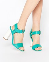 Truffle Collection Vela Block Heeled Sandals