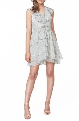 Bardot Bloom Floral Ruffle Dress
