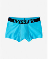 Express contrast band sport trunks