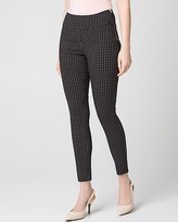 Le Château Diamond Print Tech Stretch Skinny Leg Pant