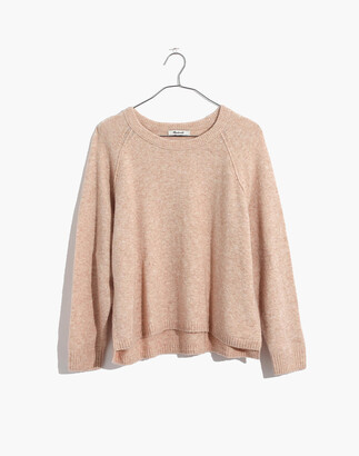 Madewell Allister Pullover Sweater in Coziest Yarn