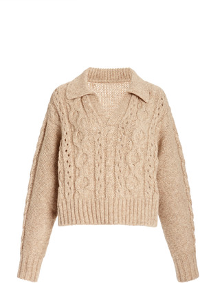 Ciao Lucia Torino Wool-Blend Cropped Sweater