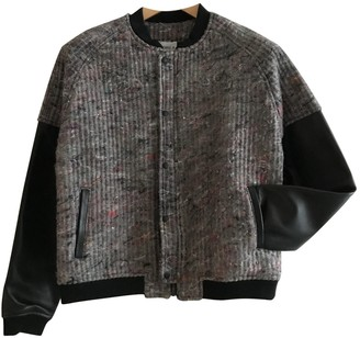 Andrea Crews Anthracite Cotton Jacket for Women