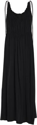 Jil Sander Scoop Neck Relaxed Sleeveless Midi Dress