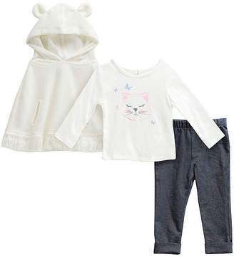 Youngland Young Land Girls 3-pc. Legging Set-Baby