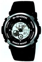 Casio Men's G-Shock G301BR-1A Black Resin Quartz Watch with Dial