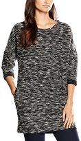 Wrangler Women's 3/4 SL Sweatshirt DR Black Night Dress