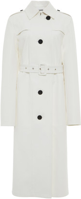 Jil Sander Belted Leather Trench