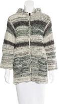 Etoile Isabel Marant Hooded Knit Sweater