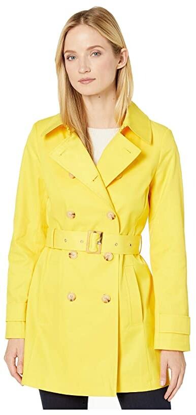Lauren Ralph Lauren Short Double Breasted Trench Women's Coat