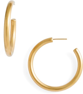 Dean Davidson Small Dune Hoop Earrings
