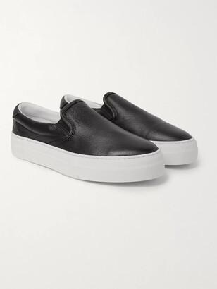 Diemme Garda Full-Grain Leather Slip-On Sneakers