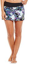 Alex Marie Paisley Belted Skirt