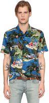 Just Cavalli Exotic Printed Cotton Shirt