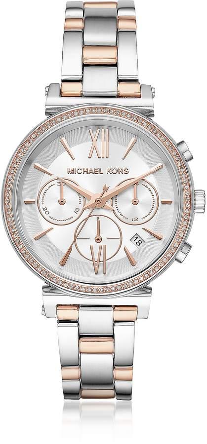 8815683a01b1 Michael Kors Round Chronograph Watch - ShopStyle Australia