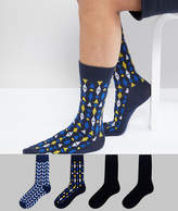 Jack and Jones 4 Pack Socks