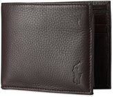 Polo Ralph Lauren Men's Wallet, Pebbled Passcase