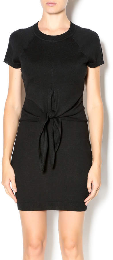 Susana Monaco Front Tie Mini Dress