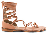 Jaggar Pave Sandal in Tan. - size 37 (also in 38)