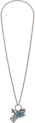 Christian Dior Brass Pendant Necklace