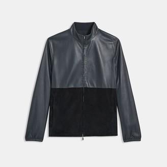 Theory Reversible Leather Jacket